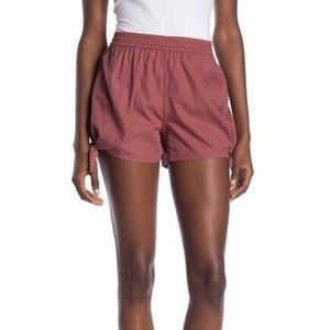 Madewell Side Tie Shorts Size Elasticized Waist 2X